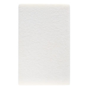 CleanXtra Crystal Pad Block White